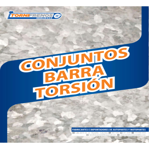 CONJUNTO BARRA TORSION