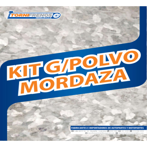 KIT GUARDAPOLVO MORDAZA