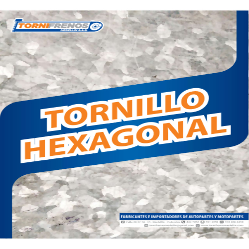 TORNILLO HEXAGONAL
